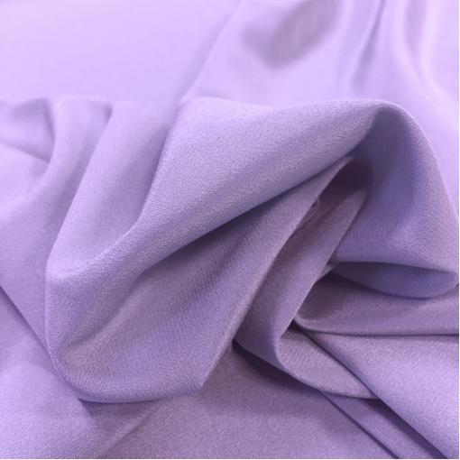 Муслин хлопок с шелком светло-сиреневого цвета