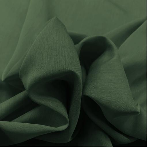 Муслин хлопок с шелком зеленого бутылочного цвета