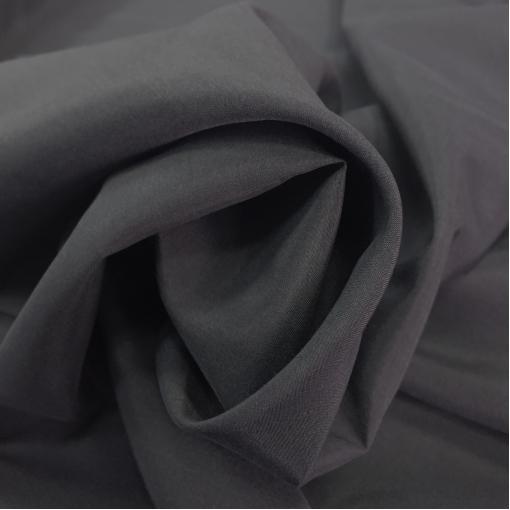 Муслин хлопок с шёлком асфальтового цвета