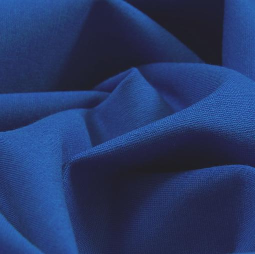 Джерси вискозное синего цвета