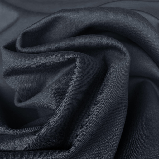 Джерси вискозное стрейч темно-синего цвета
