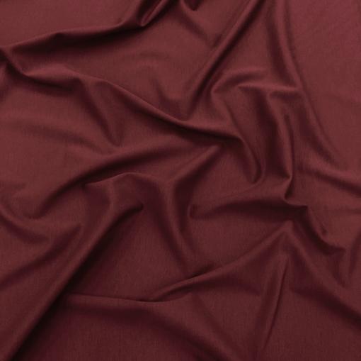 Джерси вискозное бордово-брусничного цвета