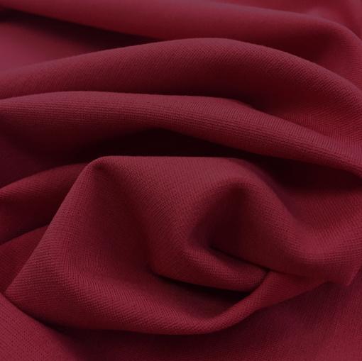 Джерси вискозное стрейч винно-бордового цвета