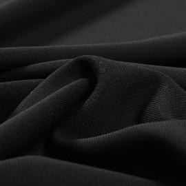 Джерси костюмно-плательное черного цвета