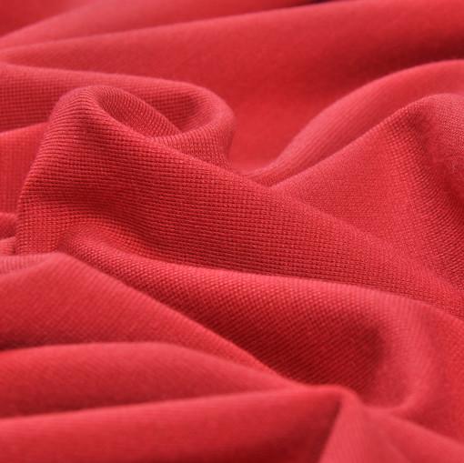 Джерси плательно-костюмный малиново-розовый