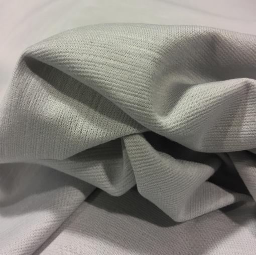 Джерси вискозное стрейч светло-серого цвета