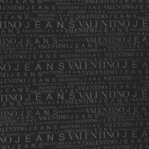 Плащевка Valentino Jeans черного цвета