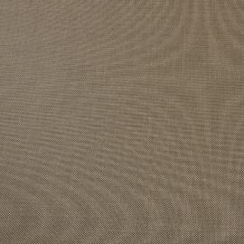 Костюмная смесовая ткань фактурная цвета кофе с молоком