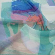 Сетка синтетическая типа марлевки с рисунком