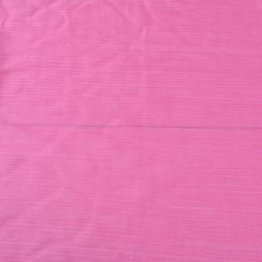 Шелк с хлопком креш ярко-розовый
