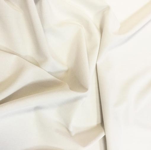 Шёлк креп белого цвета