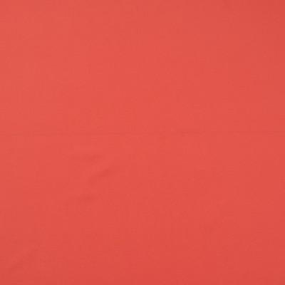 Крепдешин смесовый красно-терракотового цвета