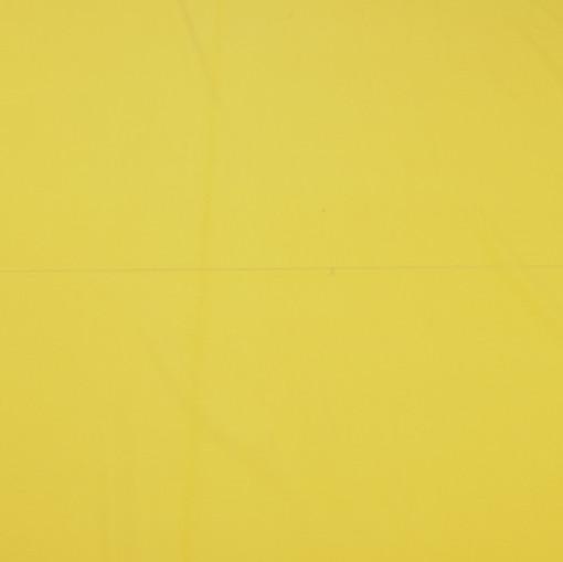Крепдешин смесовый ярко-желтого цвета
