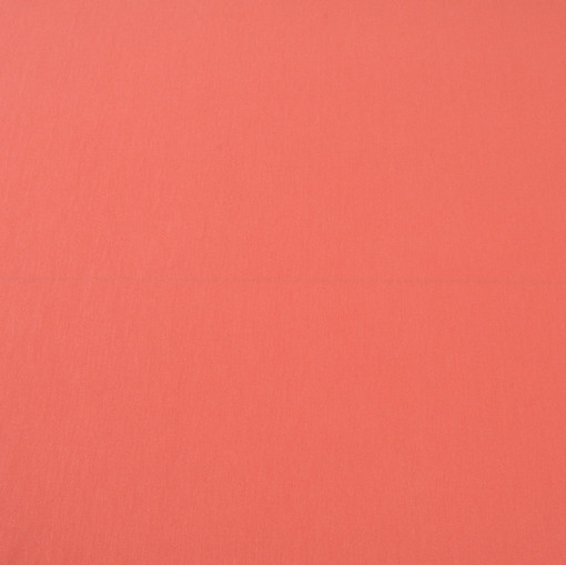 Вискозный трикотаж джерси кораллового цвета