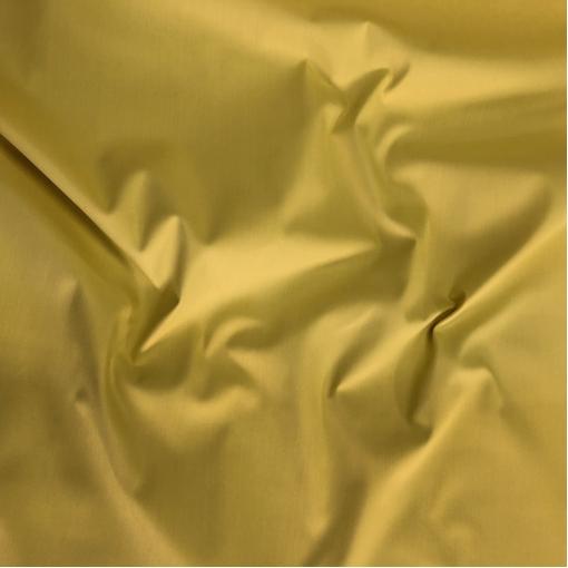 Джинса хлопковая стрейч желто-разбеленного цвета