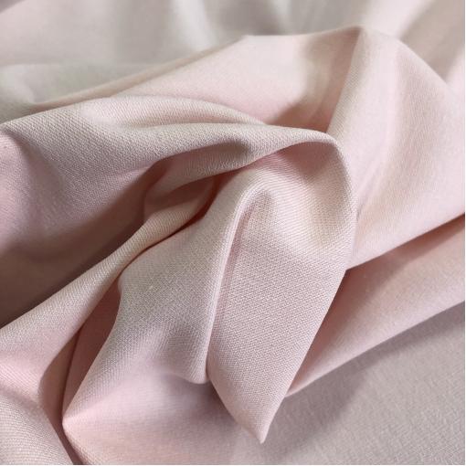 Джинса хлопковая стрейч розово-разбеленного цвета