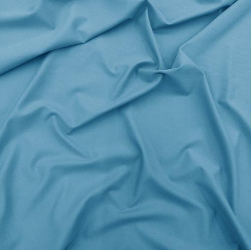 Джерси вискозное ярко-голубого цвета