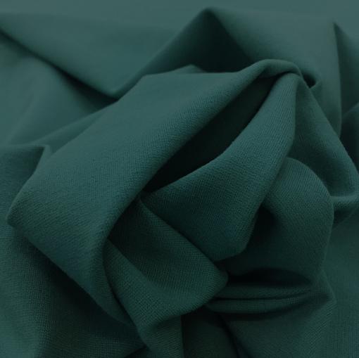 Джерси вискозный пыльно-бирюзового цвета