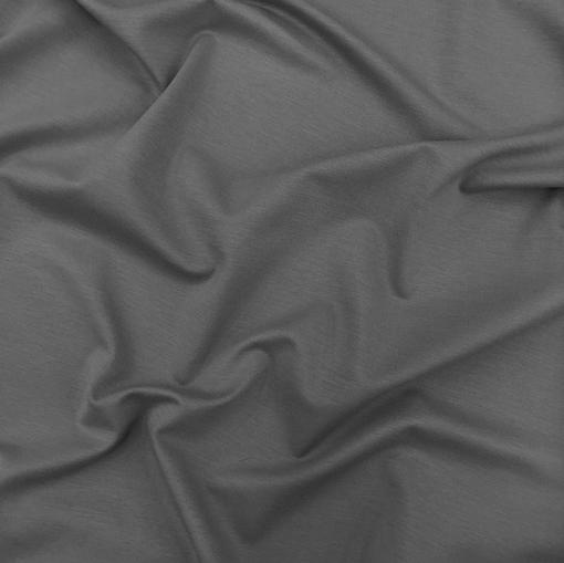 Джерси вискозное темно-серого цвета
