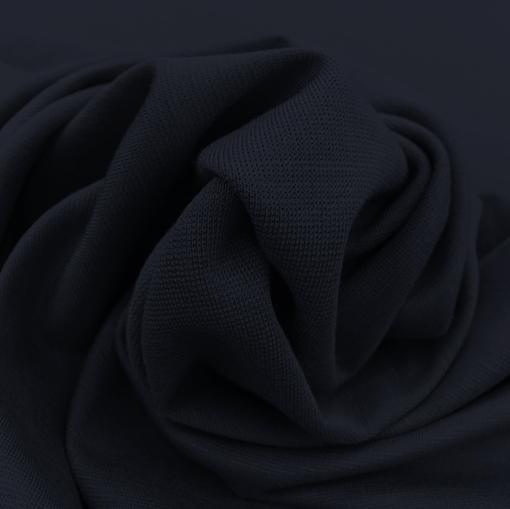 Джерси вискозное стрейч черно-синего цвета