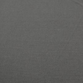 Костюмный смесовый креп серого цвета
