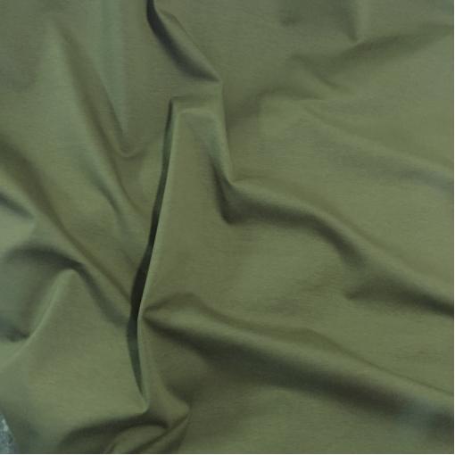 Джерси вискозное стрейч табачного-хаки цвета