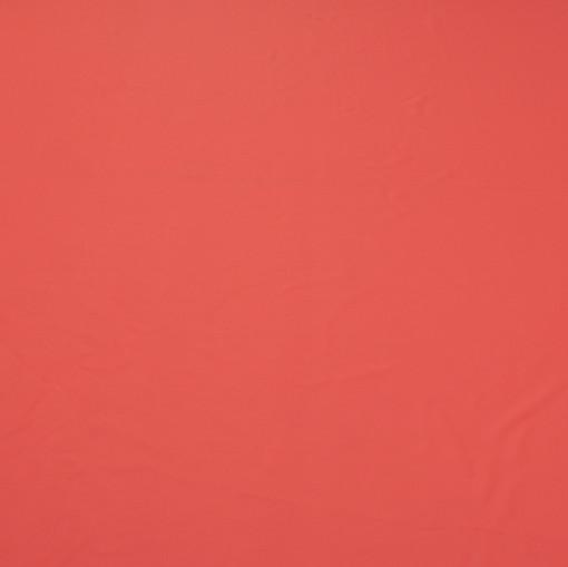 Крепдешин кораллово-красного цвета