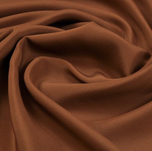 Крепдешин золотисто-коричневого цвета