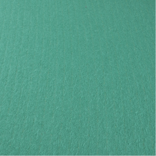 Теплый трикотаж зеленого цвета