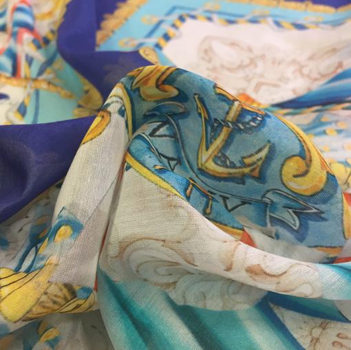Муслин Setarium платки в морском стиле