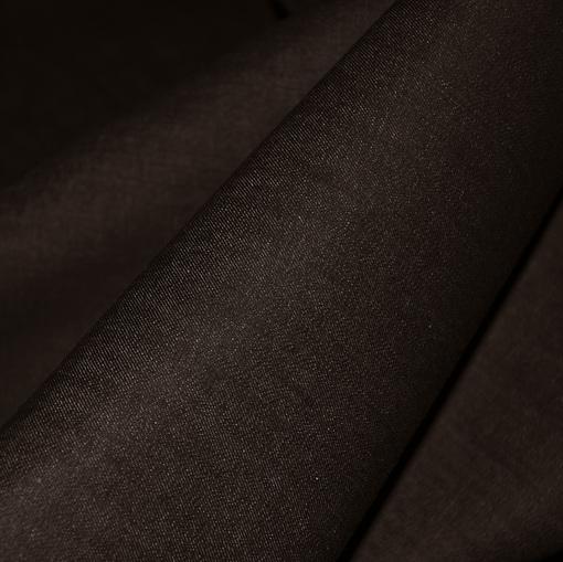 Джинсовая ткань стрейч темно-серая