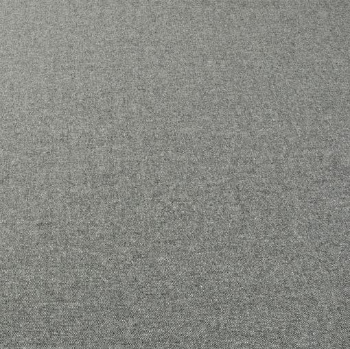 Твид стрейч средне-серого цвета