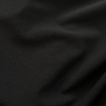 Кади стрейч шерстяной черного цвета
