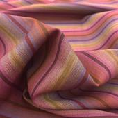 Ткань костюмная тонкая шерсть стрейч в полоску