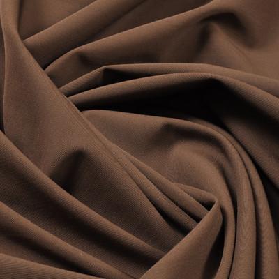 Костюмная ткань коричневая