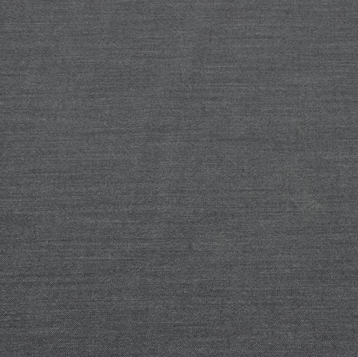 Костюмная шерстяная ткань темно-серая меланжевая