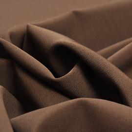 Костюмная шерстяная ткань коричнево-кофейная