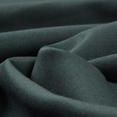 Костюмная шерстяная ткань насыщенного зеленого цвета