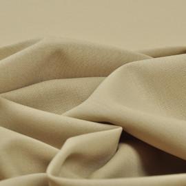 Костюмная шерстяная ткань бежевого цвета