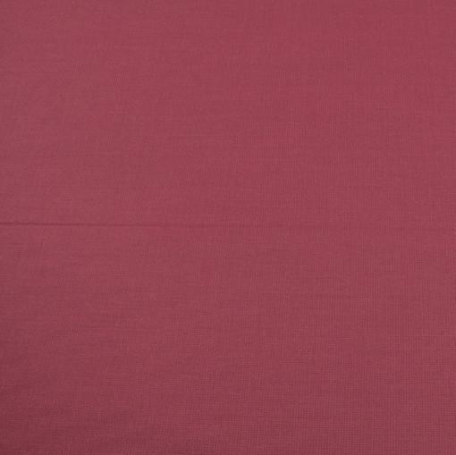Костюмная шерстяная ткань мягкая брусничного цвета