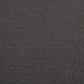 Костюмная шерстяная ткань горький шоколад в едва заметную полоску