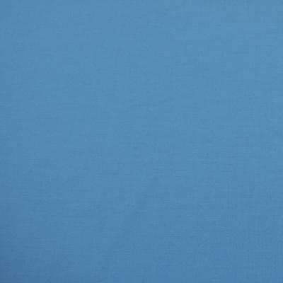 Костюмная шерстяная ткань небесно-голубого цвета