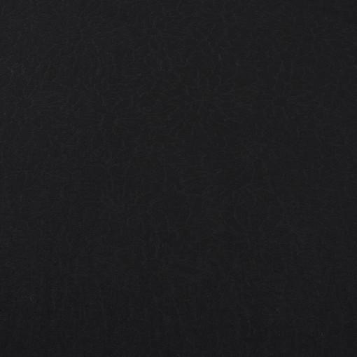 Костюмно-плательная черная ткань с выработкой цветочков