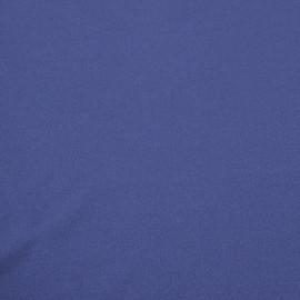 Синтетический пальтовый креп сине-фиолетового цвета