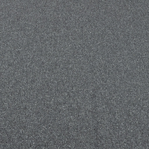 Мягкий твид нежного серо-голубого оттенка с белыми крапинами