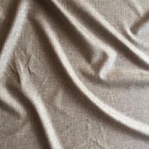 Лен с шелком оливкового цвета