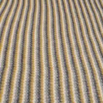 Ажурный мохер серо-горчичные полосы