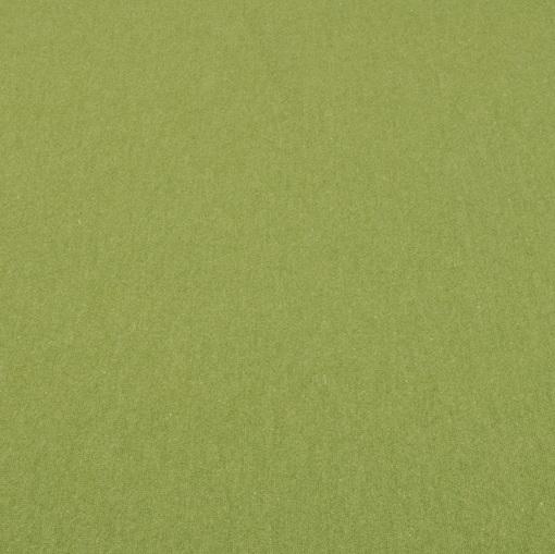 Смесовый теплый трикотаж цвета весенней зелени