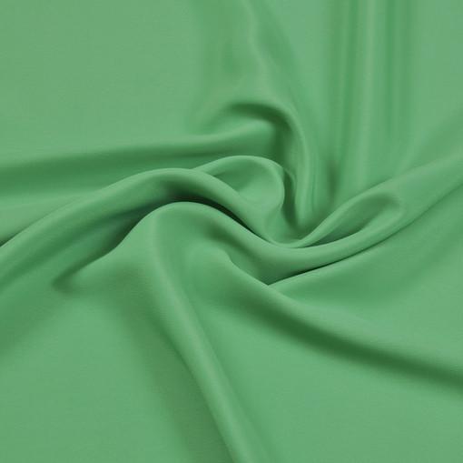 Шелк крепдешин светло-зеленого цвета