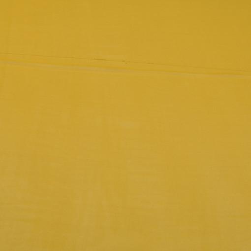 Шелк шифон крепдешин горчичного цвета